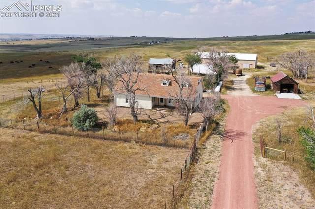 11871 County Road 118 Road, Kiowa, CO 80117 (#6016819) :: Action Team Realty