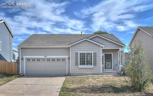844 Descendant Drive, Fountain, CO 80817 (#6080105) :: Action Team Realty