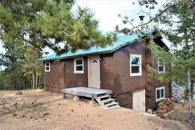 475 Gentian Road, Woodland Park, CO 80863 (#6085323) :: The Gold Medal Team with RE/MAX Properties, Inc