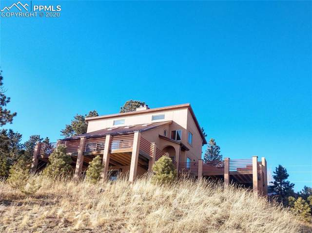 598 Woodland West Drive, Woodland Park, CO 80863 (#6089443) :: Tommy Daly Home Team