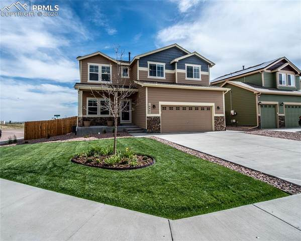 10805 Scenic Brush Drive, Peyton, CO 80831 (#6098505) :: Finch & Gable Real Estate Co.