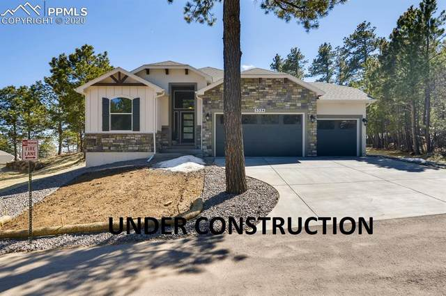 652 High Lonesome View, Colorado Springs, CO 80906 (#6103764) :: The Kibler Group