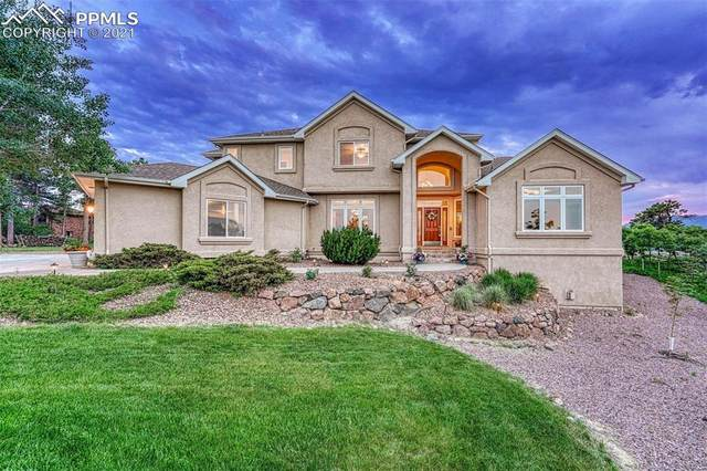 445 White Tail Way, Monument, CO 80132 (#6123719) :: Finch & Gable Real Estate Co.