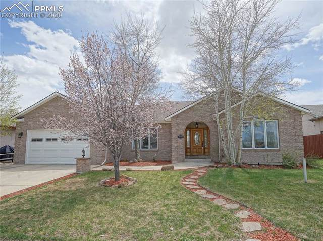 1224 Ververs Lane, Calhan, CO 80808 (#6125280) :: The Treasure Davis Team