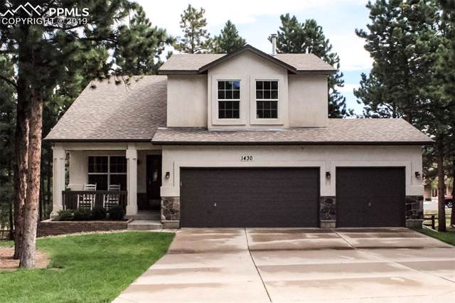 1430 Evergreen Heights Drive, Woodland Park, CO 80863 (#6126088) :: The Kibler Group