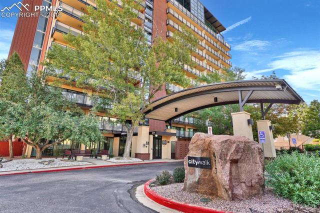 417 E Kiowa Street #1202, Colorado Springs, CO 80903 (#6134714) :: The Hunstiger Team