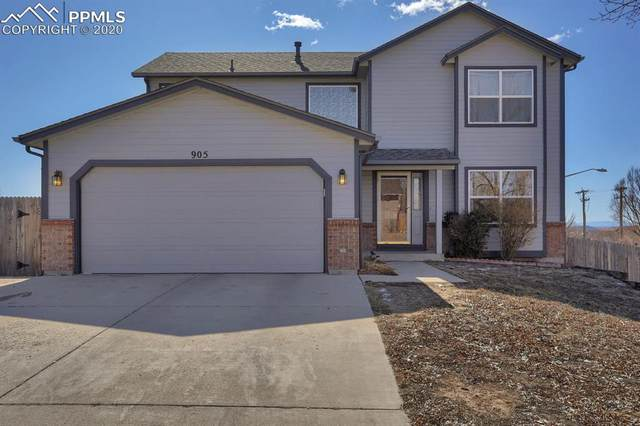 905 Binger Drive, Colorado Springs, CO 80911 (#6150468) :: Perfect Properties powered by HomeTrackR