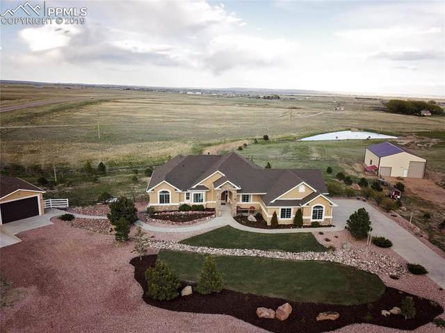 13811 Bandanero Drive, Peyton, CO 80831 (#6152846) :: The Treasure Davis Team