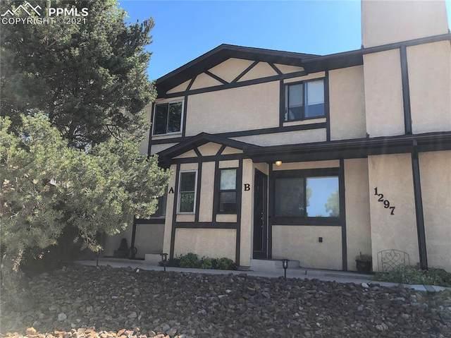 1297 Vondelpark Drive #B, Colorado Springs, CO 80907 (#6158537) :: The Treasure Davis Team | eXp Realty