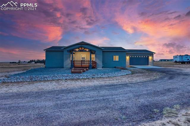 16750 Rabbit Track Trail, Colorado Springs, CO 80930 (#6173939) :: The Dixon Group