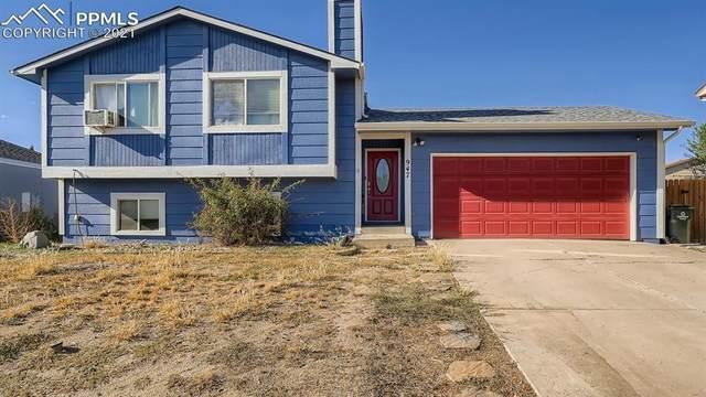 947 Rancher Drive, Fountain, CO 80817 (#6197498) :: Venterra Real Estate LLC