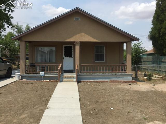 1637 E 11th Street, Pueblo, CO 81001 (#6197713) :: The Hunstiger Team