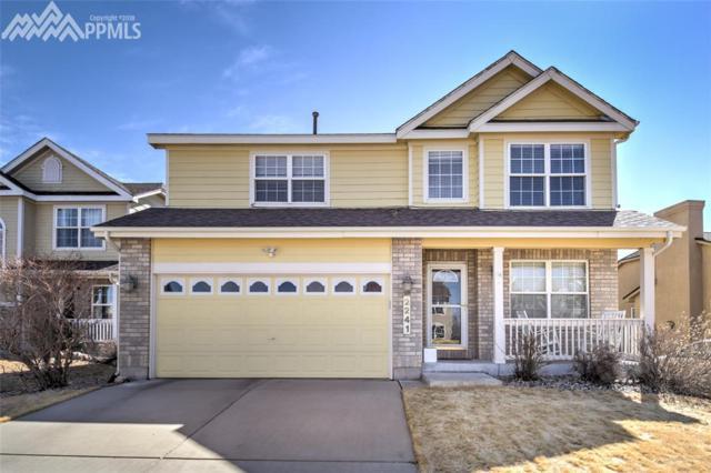 2241 Springside Drive, Colorado Springs, CO 80951 (#6198145) :: The Peak Properties Group