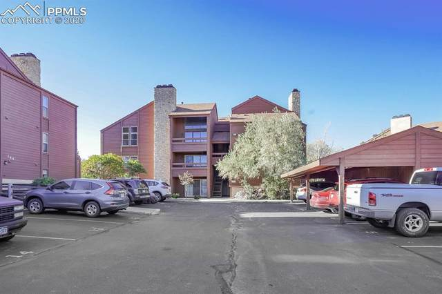 140 W Rockrimmon Boulevard #203, Colorado Springs, CO 80919 (#6217491) :: The Harling Team @ Homesmart Realty Group