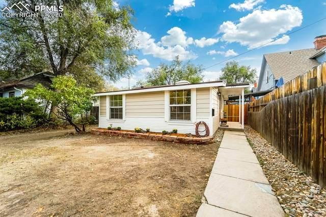 407 E San Rafael Street, Colorado Springs, CO 80903 (#6235662) :: The Treasure Davis Team
