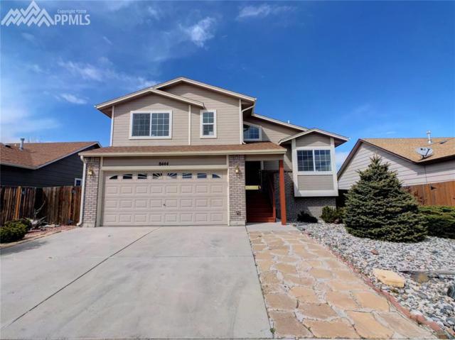 8444 Appleton Trail, Colorado Springs, CO 80925 (#6251650) :: The Treasure Davis Team