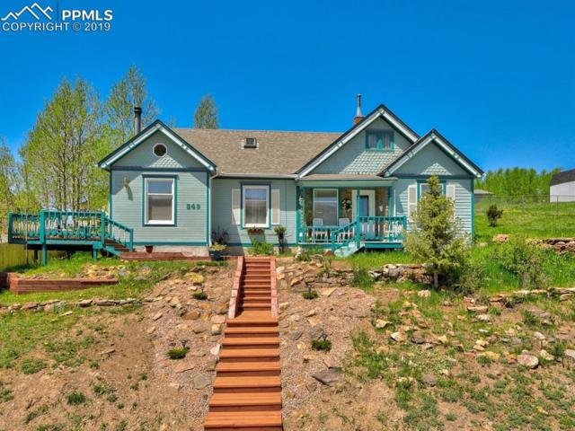 349 S 1st Street, Cripple Creek, CO 80813 (#6312462) :: The Peak Properties Group