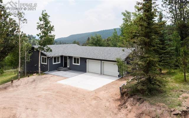 949 South Forty Road, Woodland Park, CO 80863 (#6319500) :: Fisk Team, eXp Realty