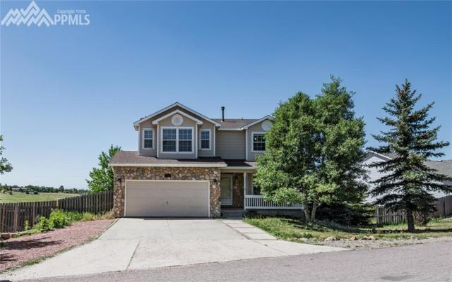 845 Circle Road, Palmer Lake, CO 80133 (#6325494) :: Fisk Team, RE/MAX Properties, Inc.