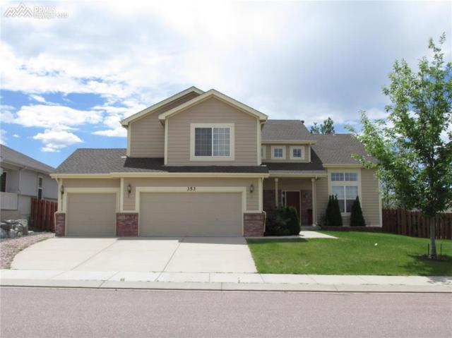 353 Mountain Lover Terrace, Colorado Springs, CO 80921 (#6350043) :: Jason Daniels & Associates at RE/MAX Millennium