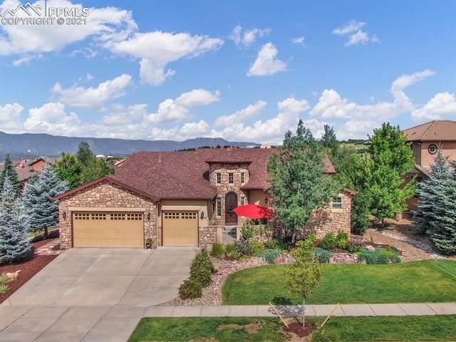 13456 Cedarville Way, Colorado Springs, CO 80921 (#6350085) :: The Dixon Group