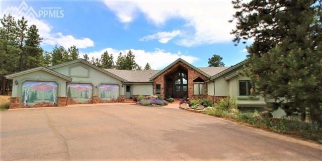 506 Mills Ranch Road, Woodland Park, CO 80863 (#6351255) :: Colorado Home Finder Realty