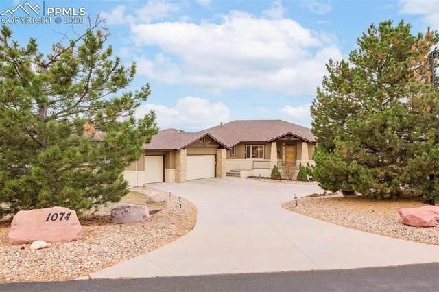 1074 Ridge Oaks Drive, Castle Rock, CO 80104 (#6353585) :: The Kibler Group