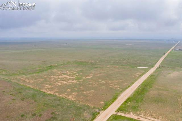 Parcel 11 E Jones Road, Yoder, CO 80864 (#6380184) :: Tommy Daly Home Team