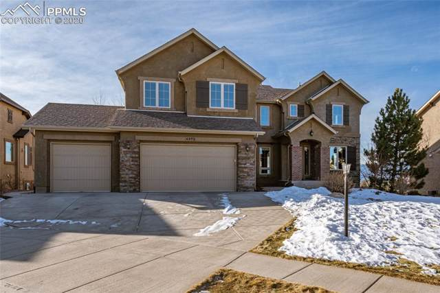 4973 Rainbow Gulch Trail, Colorado Springs, CO 80924 (#6380852) :: The Peak Properties Group