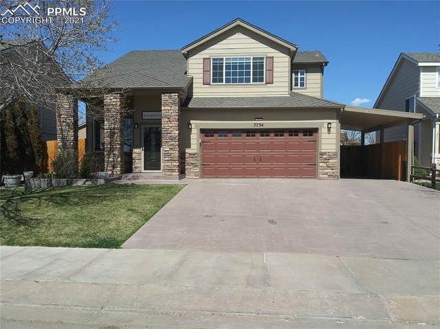 7734 Barn Owl Drive, Fountain, CO 80817 (#6427510) :: Hudson Stonegate Team