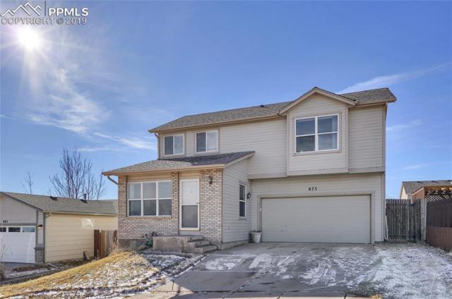 875 Lords Hill Drive, Fountain, CO 80817 (#6430840) :: The Hunstiger Team