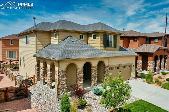 7311 Jagged Rock Circle, Colorado Springs, CO 80927 (#6471553) :: Tommy Daly Home Team