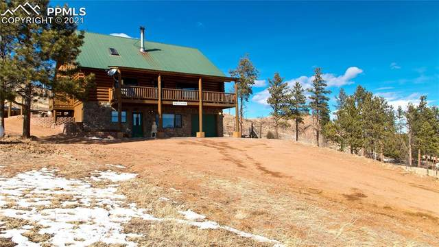13725 Crosby Circle, Woodland Park, CO 80863 (#6478611) :: The Scott Futa Home Team