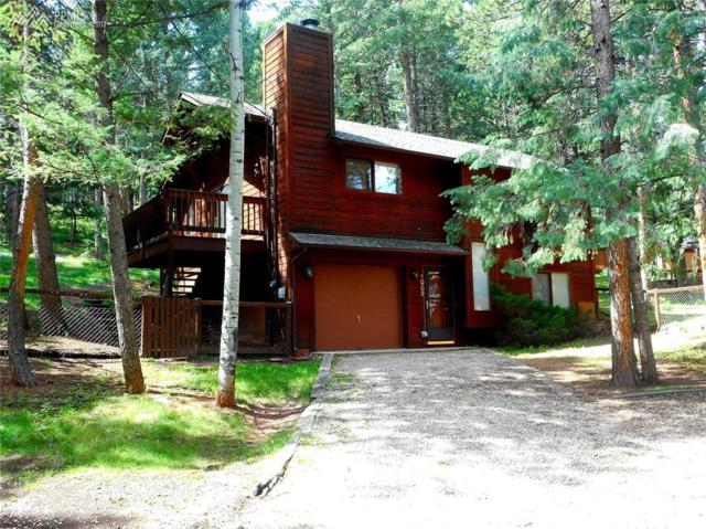 1005 W Lafayette Avenue, Woodland Park, CO 80863 (#6486438) :: The Hunstiger Team