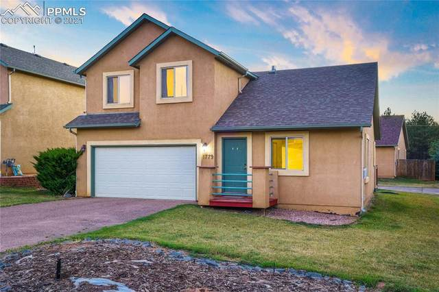 1779 Columbine Village Drive, Woodland Park, CO 80863 (#6487285) :: Tommy Daly Home Team