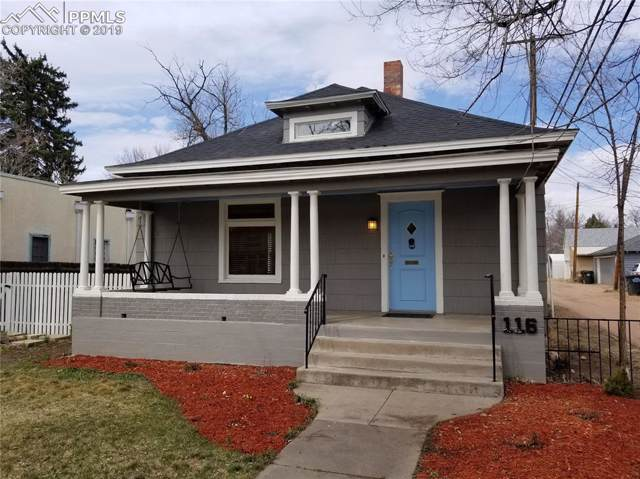 116 E Fontanero Street, Colorado Springs, CO 80907 (#6500909) :: Fisk Team, RE/MAX Properties, Inc.