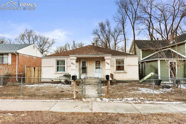 929-931 E Cimarron Street, Colorado Springs, CO 80903 (#6542291) :: Finch & Gable Real Estate Co.