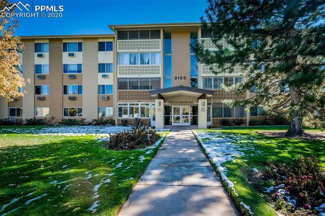 9150 E Center Avenue 10B, Denver, CO 80237 (#6552384) :: Finch & Gable Real Estate Co.