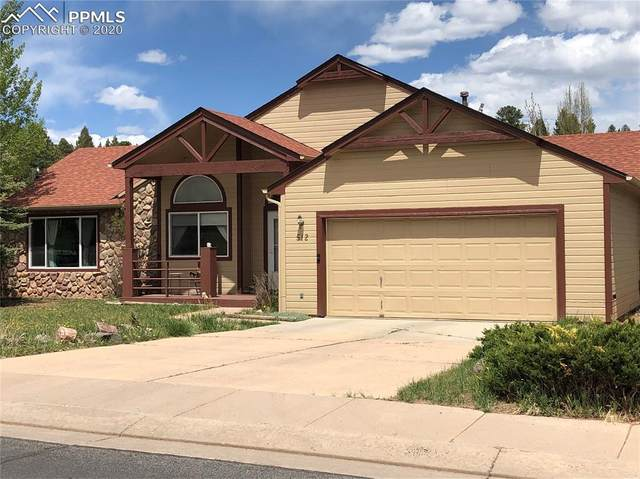 512 Black Bear Trail, Woodland Park, CO 80863 (#6557009) :: Finch & Gable Real Estate Co.