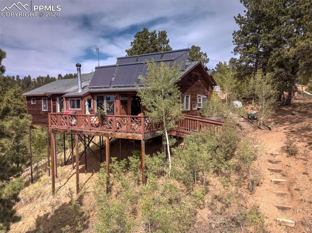 9885 Canyon Terrace, Green Mountain Falls, CO 80819 (#6596692) :: The Dixon Group
