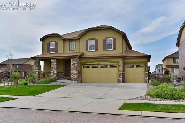 7151 Mountain Spruce Drive, Colorado Springs, CO 80927 (#6604178) :: Action Team Realty