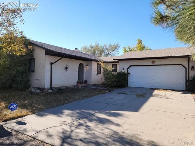 466 E Fredonia Drive, Pueblo West, CO 81007 (#6609622) :: The Harling Team @ HomeSmart