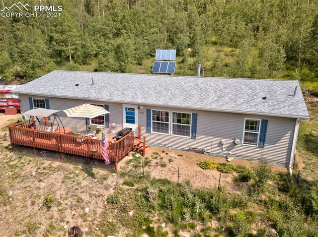 2716 County Road 81 Road, Cripple Creek, CO 80813 (#6612473) :: Tommy Daly Home Team