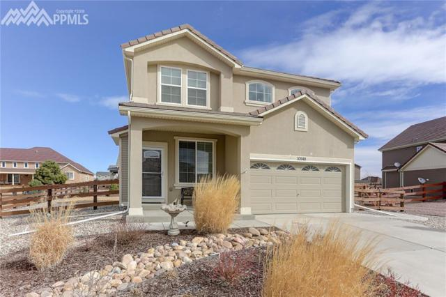 10948 Hidden Ridge Circle, Peyton, CO 80831 (#6622645) :: The Treasure Davis Team