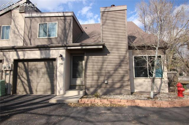 79 Crystal Park Road B, Manitou Springs, CO 80829 (#6640404) :: The Treasure Davis Team