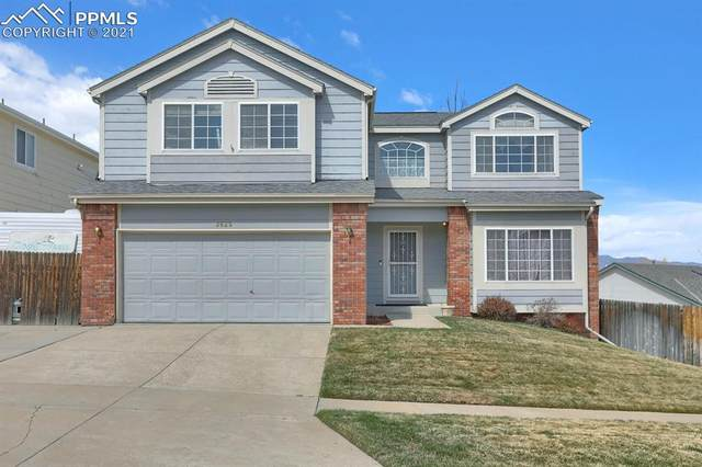 2625 Lyncrest Drive, Colorado Springs, CO 80918 (#6647228) :: The Dixon Group