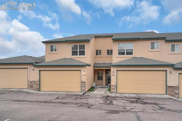 221 Eagle Summit Point #102, Colorado Springs, CO 80919 (#6647320) :: The Cutting Edge, Realtors