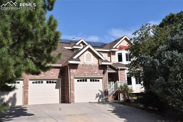180 Wuthering Heights Drive, Colorado Springs, CO 80921 (#6650067) :: The Treasure Davis Team   eXp Realty