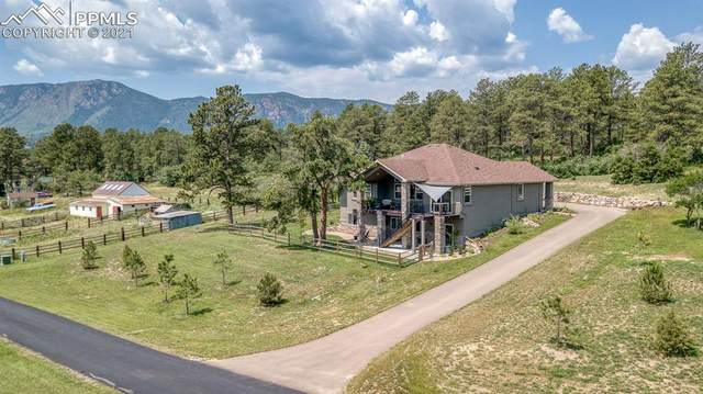 601 Pioneer Haven Point, Palmer Lake, CO 80133 (#6654734) :: Action Team Realty
