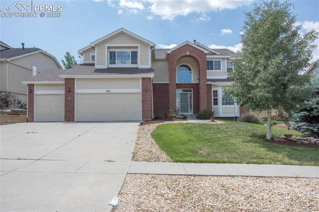 472 Coyote Willow Drive, Colorado Springs, CO 80921 (#6661131) :: The Treasure Davis Team